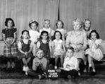 Grade 1,2, and 3, Class of 1949, Murray School, photograph