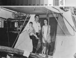 [Family camping for a Mission Viejo La Paz home photograph].