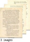 Article draft addressed to M. Horton, editor CLA Bulletin, February 11, 1946