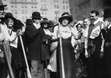 Lillie Langtry (The Jersey Lily) plants a rosebush in front of Hotel Oakland on June 18, 1914 [picture].