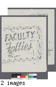 Faculty Follies program