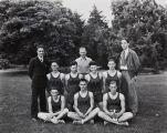 Mary A. Smart photograph of the Santa Ana Junior College basketball team