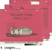 [Barcelona Homes, Charro, plan C floor plan and exterior renderings brochure].
