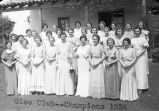 Glee Club - Champions 1934 / Lee Passmore