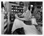 William Parker Lyon Pony Express Museum--Barber Shop