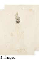 Untitled, portrait of a prince with a turban/ Untitled, a portrait of a young man