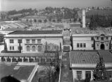 [Aerial view of campus facing north]