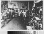 Interior of Wisnom-Bonner Hardware Store