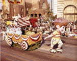 Pasadena Tournament of Roses Parade--Arcadia Float, 1968