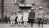 George, Nellie, Ellen, Patrick and William Nagano : Morro Bay : 1929.