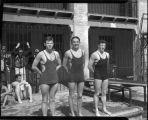 [Swim team members]