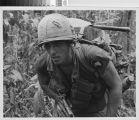 Soldier on patrol - Vietnam