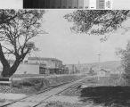 Berkeley Station, looking north, 1888