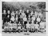 Martin Elementary School class picture (1940)