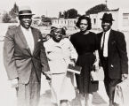 Deacon Brown with his wife Clincy and Deacon Sirls with his wife Williea, St. Paul Baptist Church : 1950.