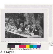 Commencement Luncheon in Faculty Glade, June 16, 1950