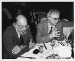 Photograph of Allen Ginsberg and John Adams