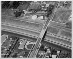 Upland Photograph Landscape; Aerial view of San Bernardino Freeway