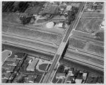 Upland Photograph Landscape; Aerial view of San Bernardino Freeway