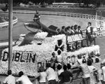Dublin float at the Alameda County racetrack, (c.1960s), photograph