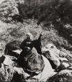 Candelaria Valenzuela, basket weaver of Ventureno Chumash and Fernandeno ancestry : circa 1912.