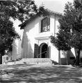 Mission Santa Ysabel entrance in Santa Ysabel, CA