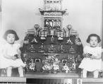 Photograph of Sharon & Sharmon Shimizu, 1958