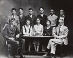 Mary A. Smart photograph of the Santa Ana Junior College Executive Board, second semester, 1930-31