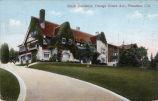 "Postcard: ""Busch Residence, Orange Grove Ave., Pasadena, Cal."""