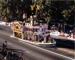 Pasadena Tournament of Roses Parade--Arcadia Float, 1990