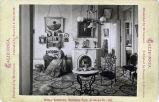 Eadweard Muybridge photograph of Mills Hall interior