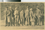 [Little River Redwood Co. company officials, posed]