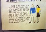 Student sign, Citrus Junior College, 1942