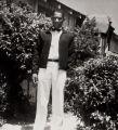 Leroy Jones, Sr., male nurse orderly, Airport Hospital, Santa Maria : 1954.