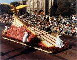 Pasadena Tournament of Roses Parade--Arcadia Float, 1962