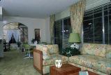 [New Castille Homes, plan 40 model home living room slide].