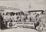 Rotary District 524 in Front of Pan American Plane