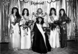 1986 Miss Commerce Pageant and Court
