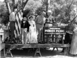 Children in costume at the 11th Annual Pioneer Picnic, Inglewood, California