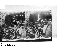 Inscribed in recto: 17,016. A NATIVE POTTERY IN OLD CAIRO, EGYPT. Moulding Earthenware Goulahs and Flower-Pots on Revolving Tables Worked by Treadles. Copyright 1912 by Geo. Rose.