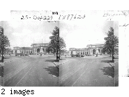 On Delaware Ave. N.E. to Union Depot and Post Office at extreme left. Wash. D.C.