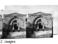 Tomb of the Virgin Mary, near Gethsemane - Jerusalem, Palestine.