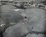 Photograph of the Hauschildt Ranch during the Groundbreaking Ceremony