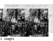 """""""Rex Parade""""   floats  on Canal St. Mardi Gras Day,    Feb. 16, 1926, New Orleans, La."""