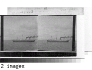 A passing steamer, Lake Superior.