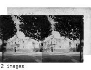Alamo Mission, San Antonio, Texas.