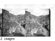 Colorado. [Poss. Cheyenne Canyon / Seven Falls] 9/86 RM