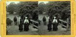Eadweard Muybridge stereoscopic photograph of Mills College