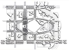 Central Park Oval Detail
