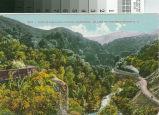 Postcard View of Los Gatos Canyon, California